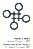 bookcover Women in Politics, National Conference 1973